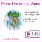 Planx Uhr 19 cm