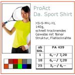 ProAct Da. Sport Shirt